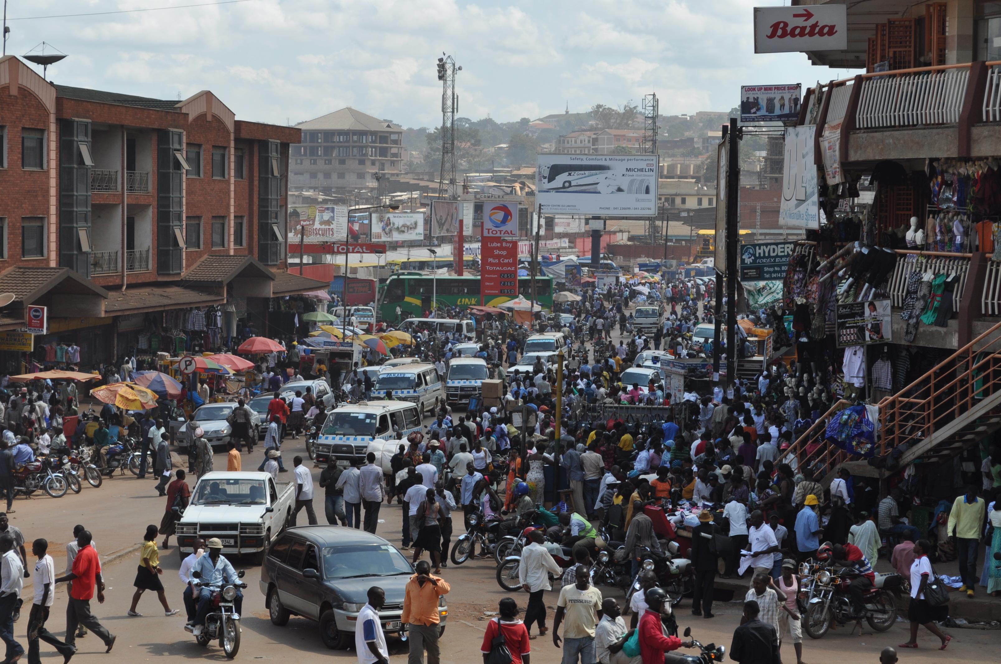 Kampala Streets From Uganda